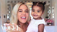 Khloé Kardashians New Mom Beauty Routine | Beauty Secrets | Vogue