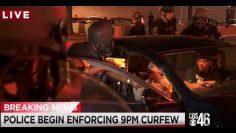Car Arrest with Taser, Atlanta, May 30