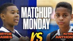 Bryce James vs Kiyan Anthony: Like Father, Like Son! SLAM Matchup Monday