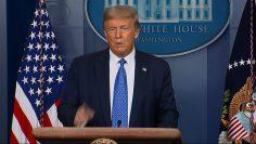 Trump responds to Biden racist taunt