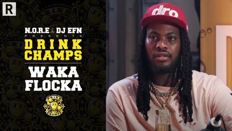 Waka Flocka Talks His Music Journey, Mental Health, Desiac Liqueur And More | Drink Champs
